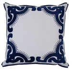 bronte navy cushion cover