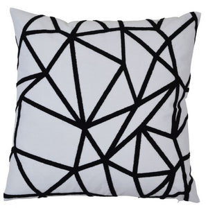 waverly black cushion cover