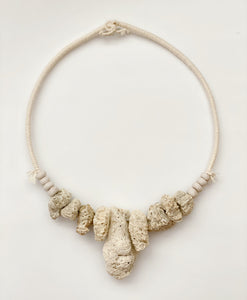 large Coral Necklace wall hanging
