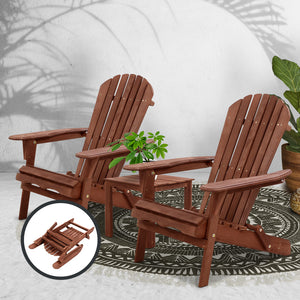 3PC Outdoor Setting Beach Chairs