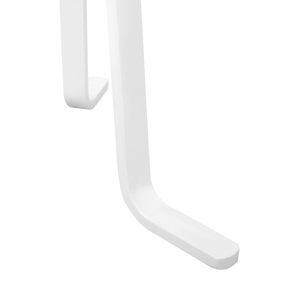 Wooden Coat Hanger Stand - White