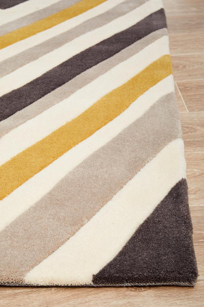 Gold Collection 635 Yellow Rug