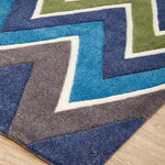 Gold Collection 644 Navy Rug