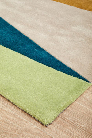 Gold Collection 645 Green Rug