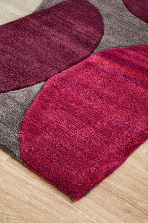 Gold Collection 651 Aubergine Rug