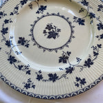 Royal Doulton England York Town Blue Grapevine Setting for 8