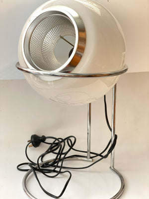 Retro 1970's Chrome Table Lamp