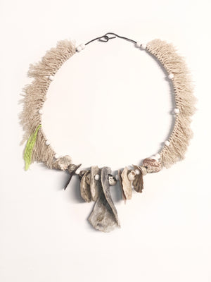 Shell Necklace Wall Hanging