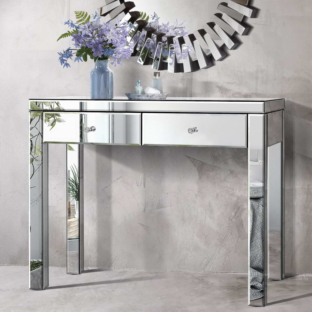 Mirrored  Console Hall Table