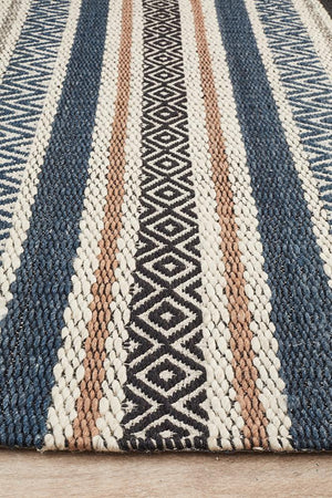 Miller Rhythm Swing Denim Rug