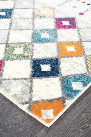 Mirage Peggy Tribal Morrocan Style Multi Rug