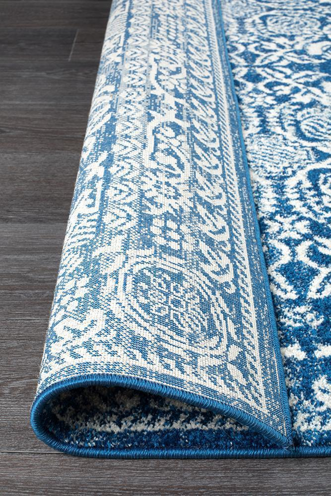 Mirage Gwyneth Stunning Transitional Navy Rug