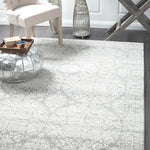 Mirage Gwyneth Stunning Transitional Silver Rug