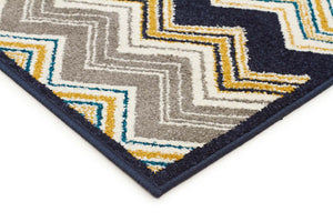 Marquee Indoor Outdoor 303 Navy Rug