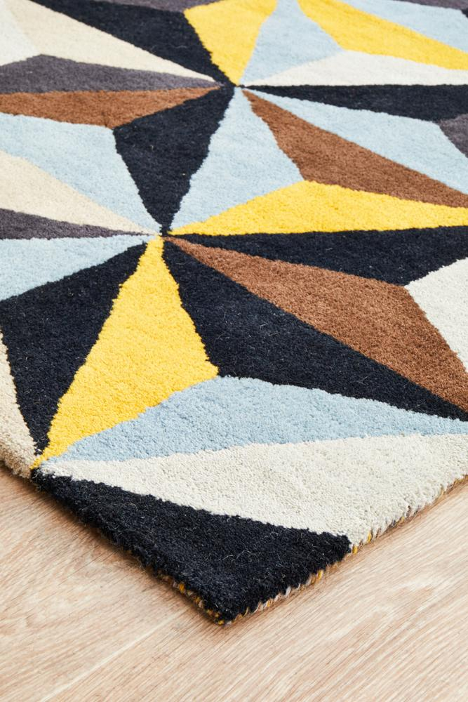 Matrix Pure Wool 900 Blue Runner Rug