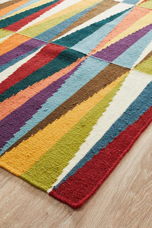 Nomad Pure Wool Flatweave 33 Multi Runner