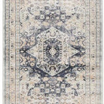 Providence Esquire Brushed Traditional Blue Rug