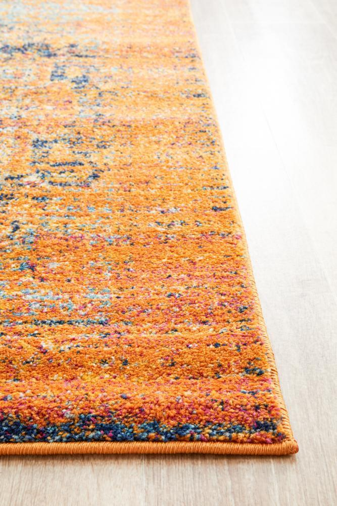 Radiance 400 Rust Runner Rug