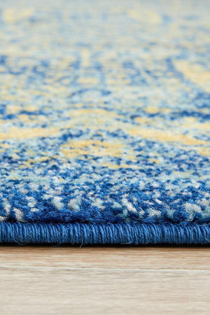 Radiance 411 Royal Blue Rug