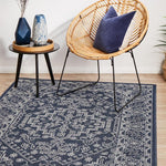 Seaside 5555 Navy Rug