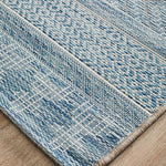 Rug Culture Terrace 5505 Blue Runner Rug