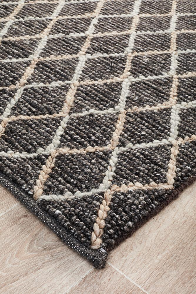 Urban Collection 7502 Charcoal Rug