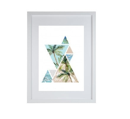 palm tree framed print