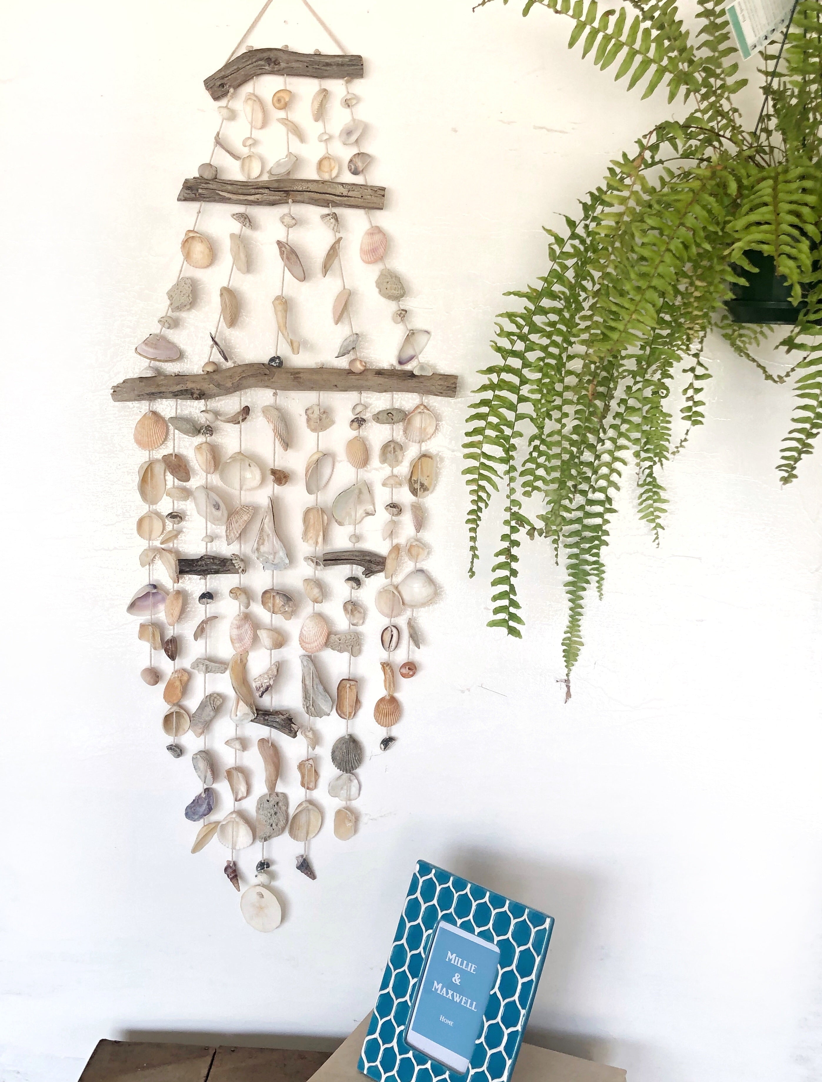 large shell wall hanging
