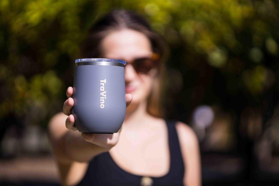 Stemless travel cup