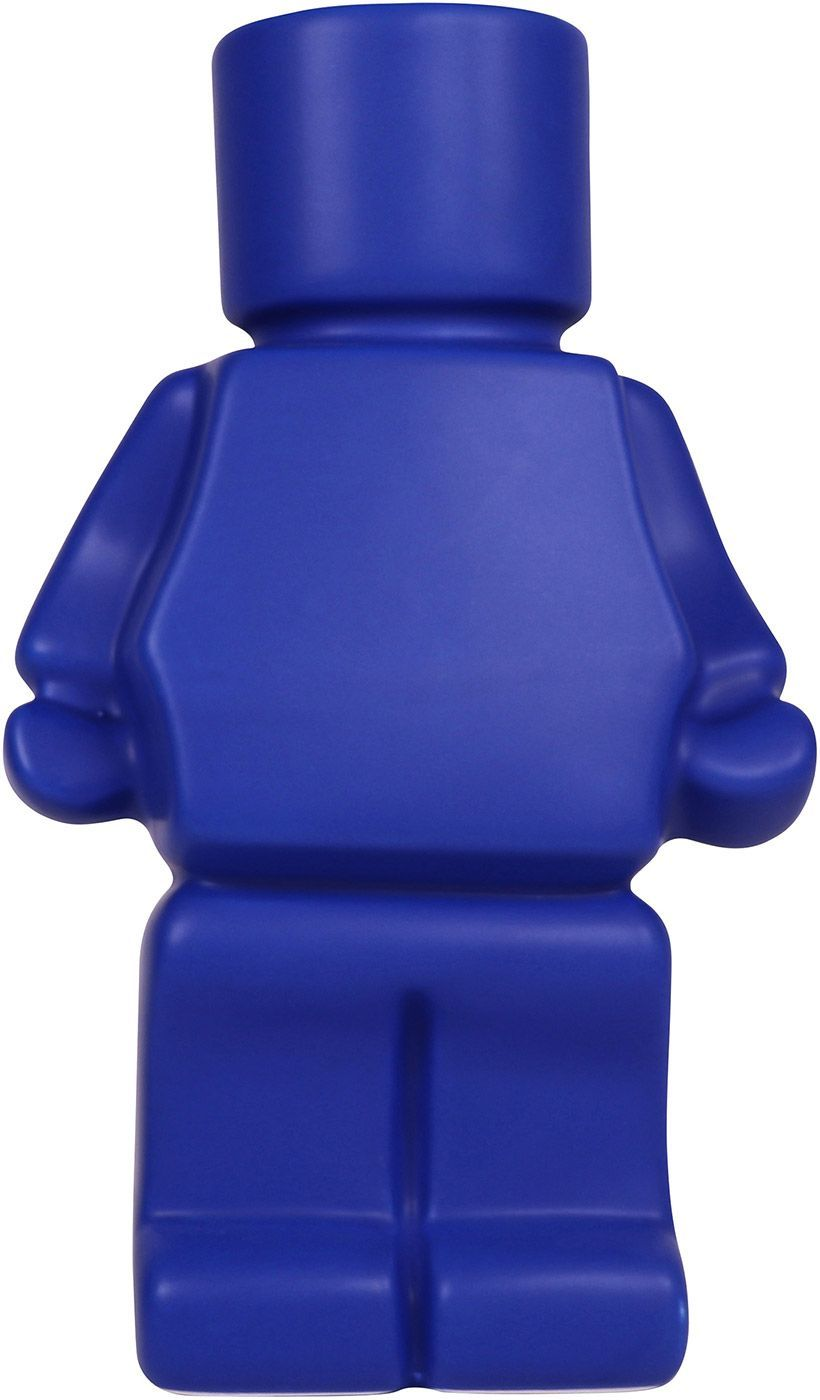Block Man Planter Blue 22cm