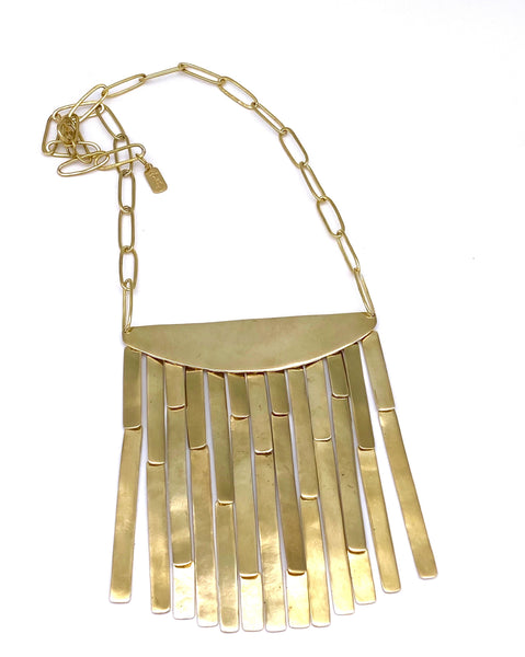 Bambu Shield Necklace