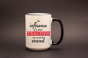The influence of a great teacher...