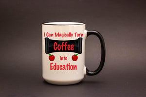 I Can Magically Turn Coffee Into Education