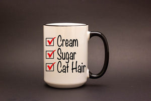 Cream, Sugar, Cat Hair