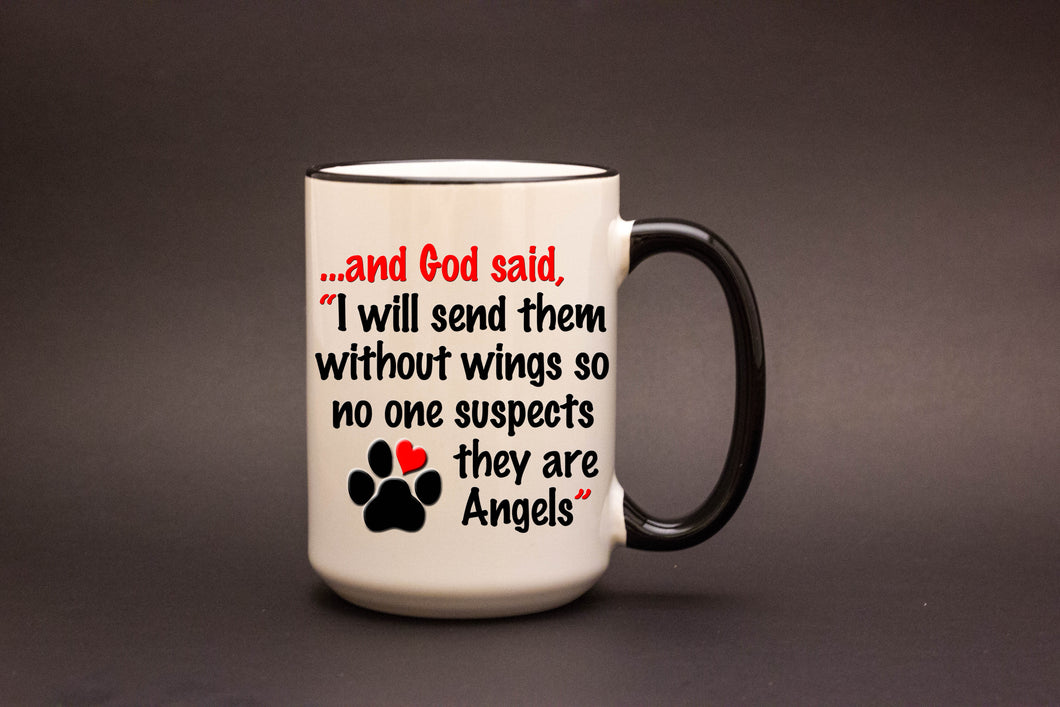 And God said, I will send them without wings