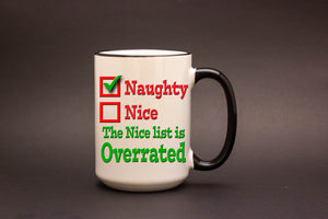 The Nice list is overrated.