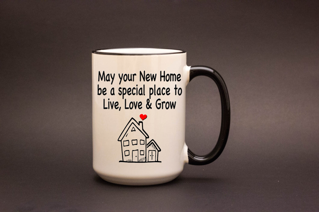 May your new home be a special place...