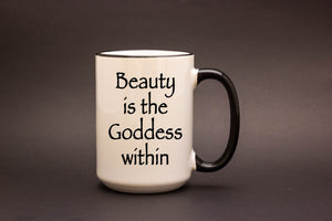 Beauty is the Goddess within
