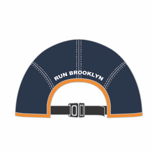 Tech Run Cap - Navy 'Logo Design' - Brooklyn Marathon