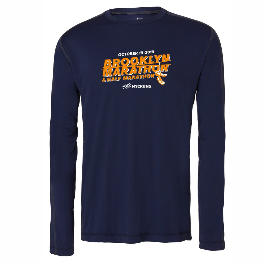 Brooklyn Marathon,Long Sleeve,Men's