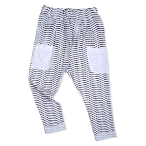 Tinono Kids bottom b&w drop pants