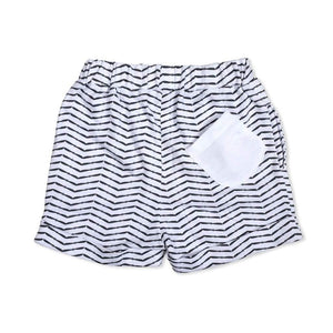 Tinono Kids bottom b&w drop shorts