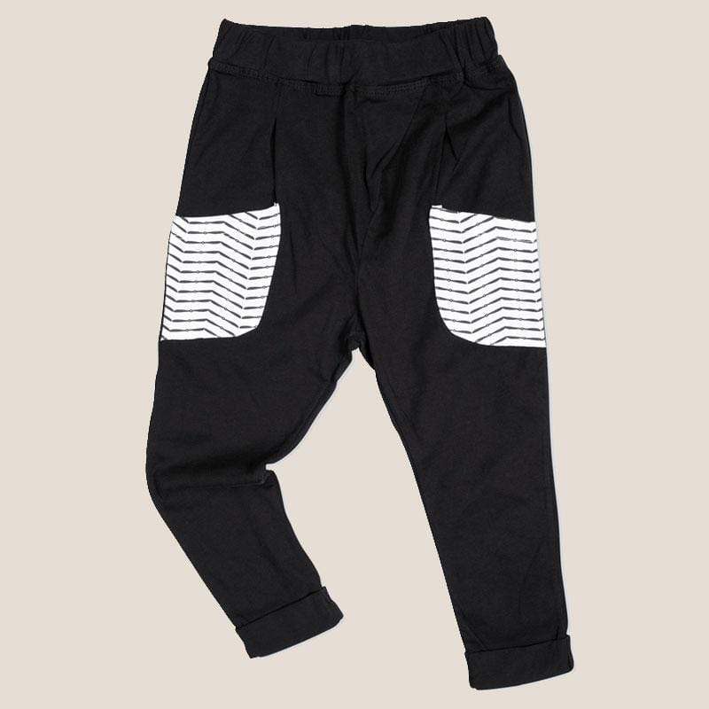 Tinono Kids bottom Black drop pants
