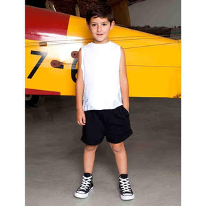 Tinono Kids bottom black drop shorts