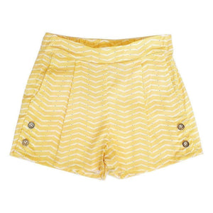 Tinono Kids bottom Piper yellow shorts