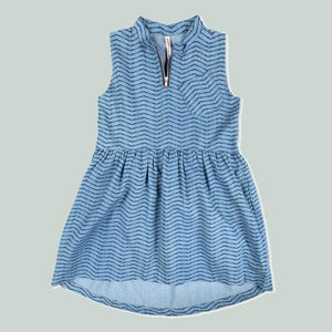 Tinono Kids dress שמלת ג'ינס חתך מותן