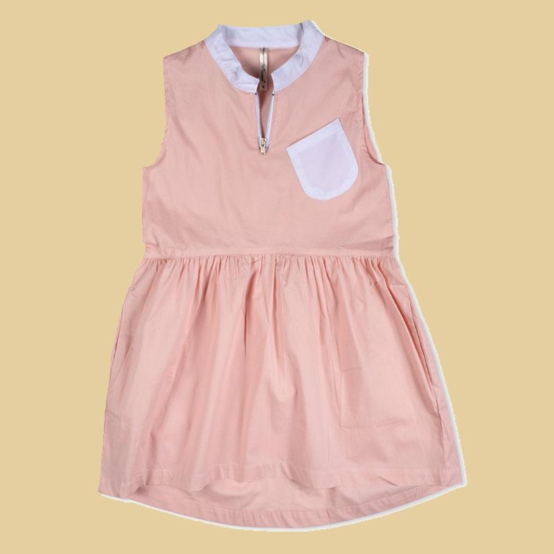 Tinono Kids dress שמלת חתך מותן ורודה