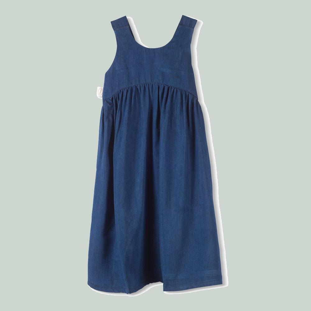 Tinono Kids dress שמלת ג'ינס סימפל