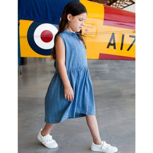 Tinono Kids dress Voyager denim dress