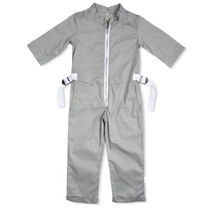 Tinono Kids jumpsuit Voyager olive aviator's jumpsuit